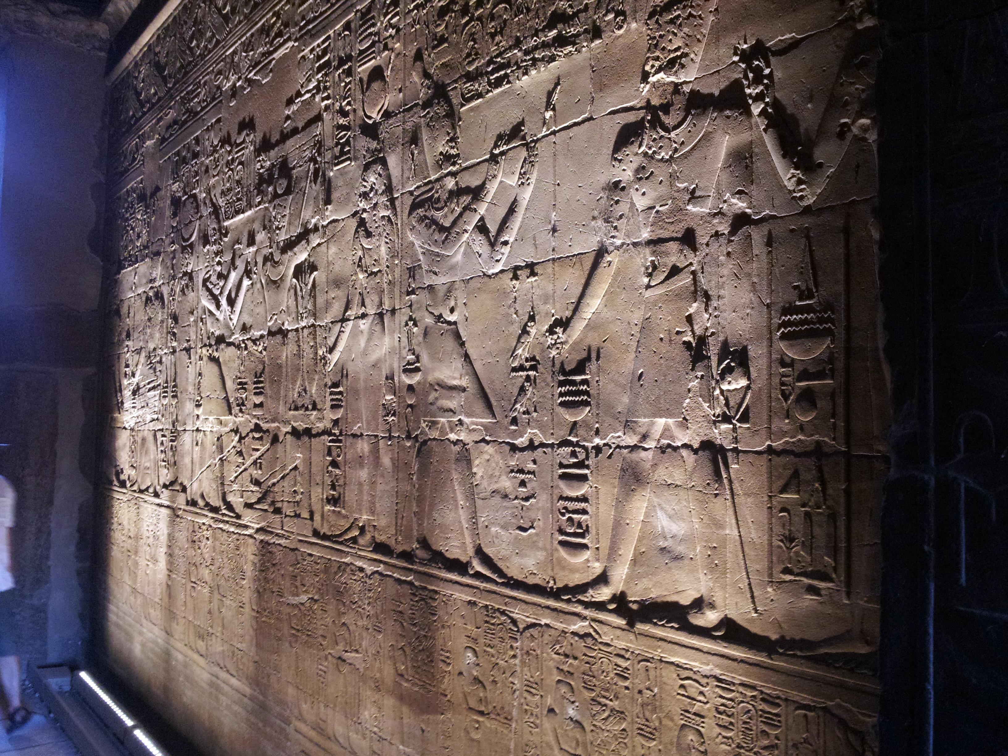 Crucero por el Nilo, templo de Luxor