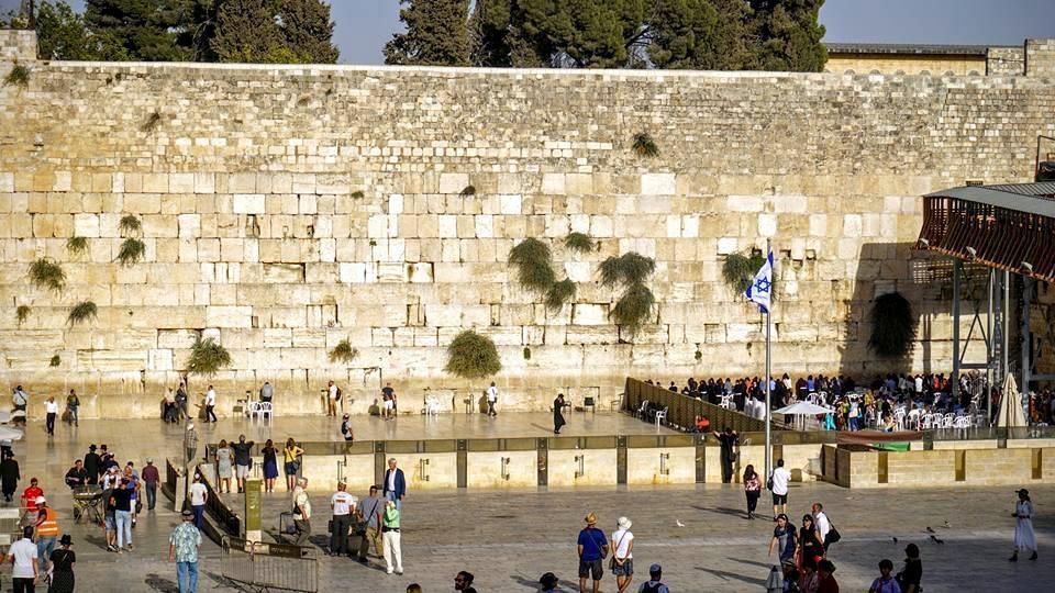 Muro de las lamentaciones en Israel