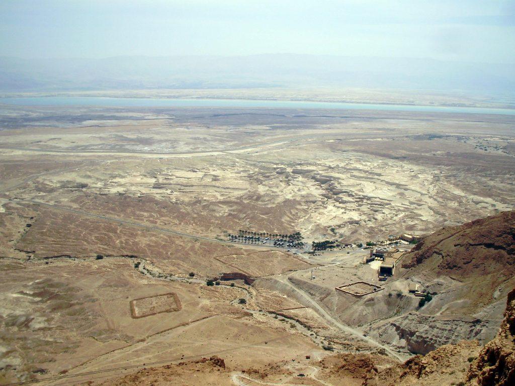 Vistas desde Masada, Israel