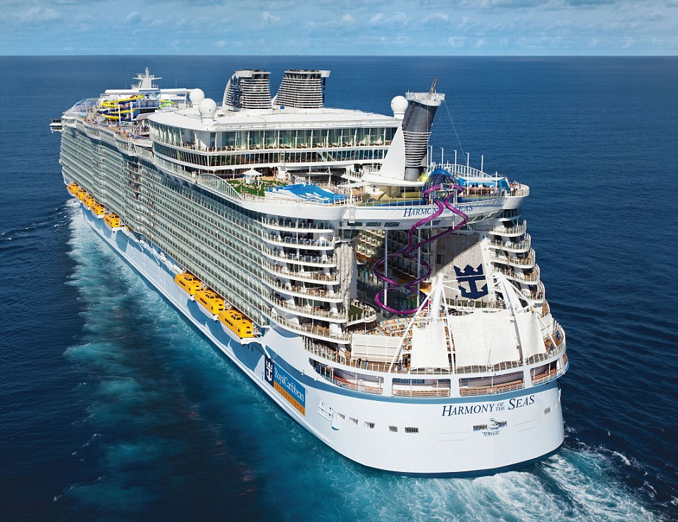 Harmony of the Seas, historia de los cruceros