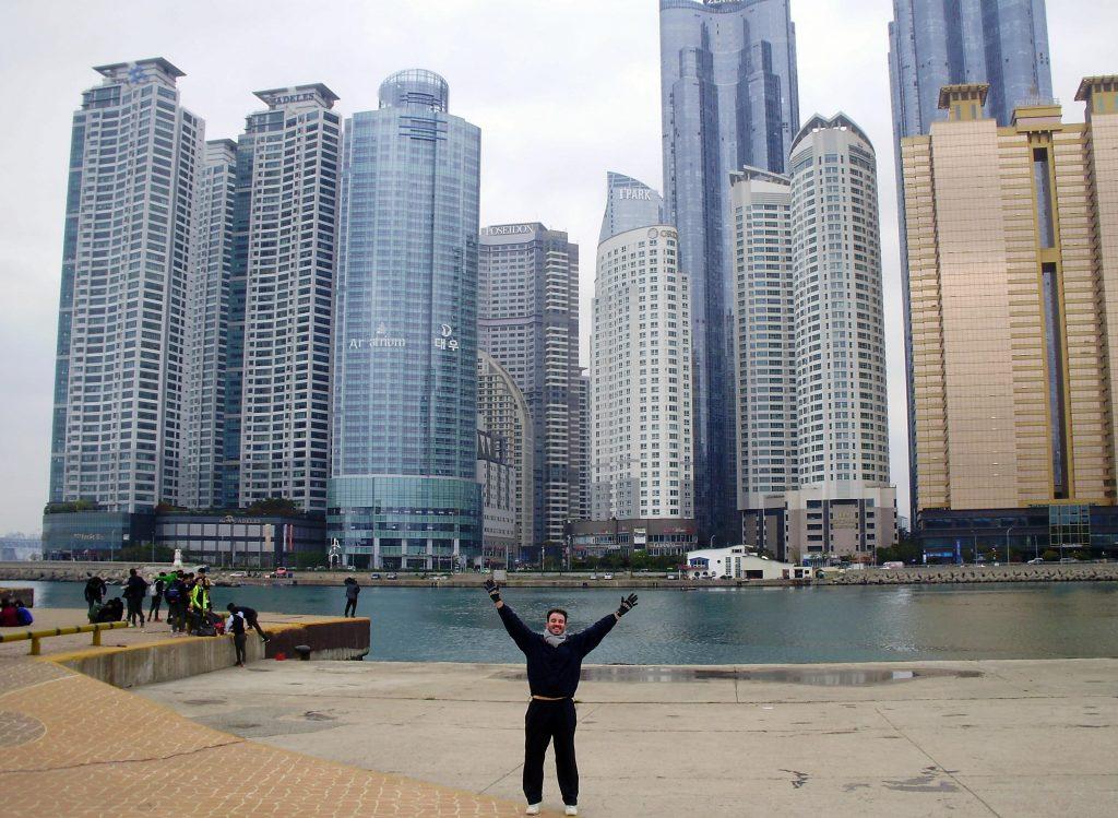 Busan, escala en nuestro crucero asiático