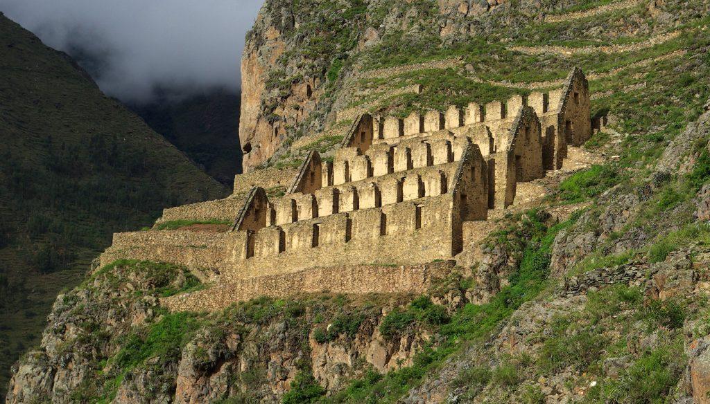 Ollantaytambo en Perú