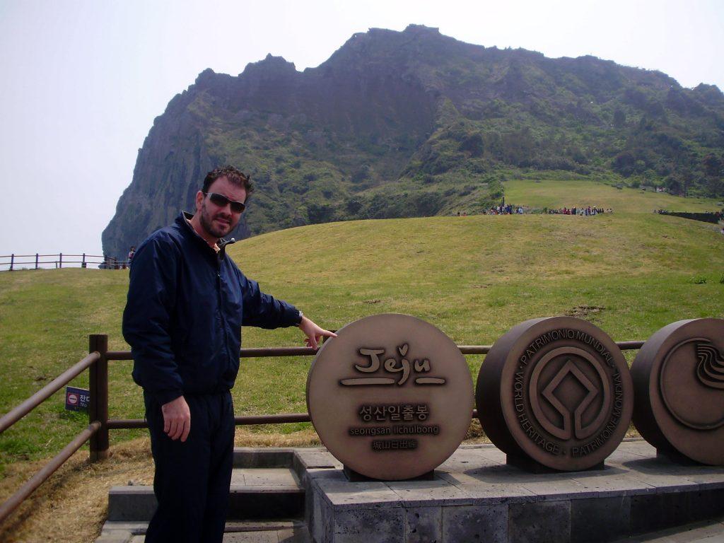 Jeju island en crucero asiático
