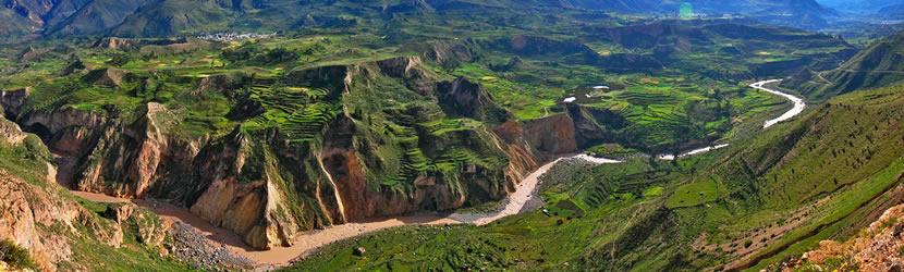Cañón del Colca, Perú.