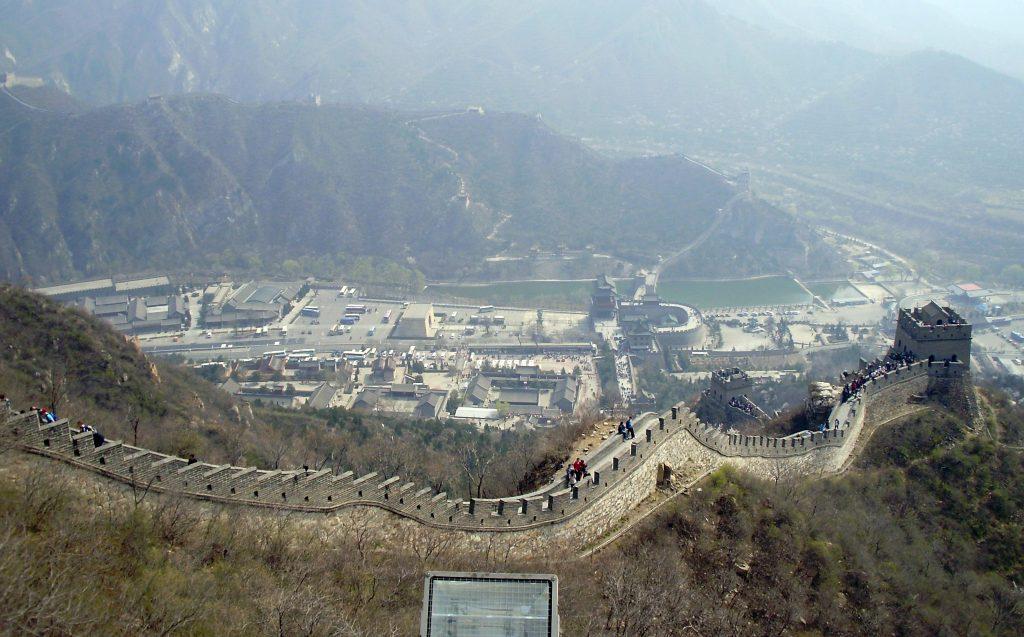 Gran Muralla China en nuestro crucero asiático