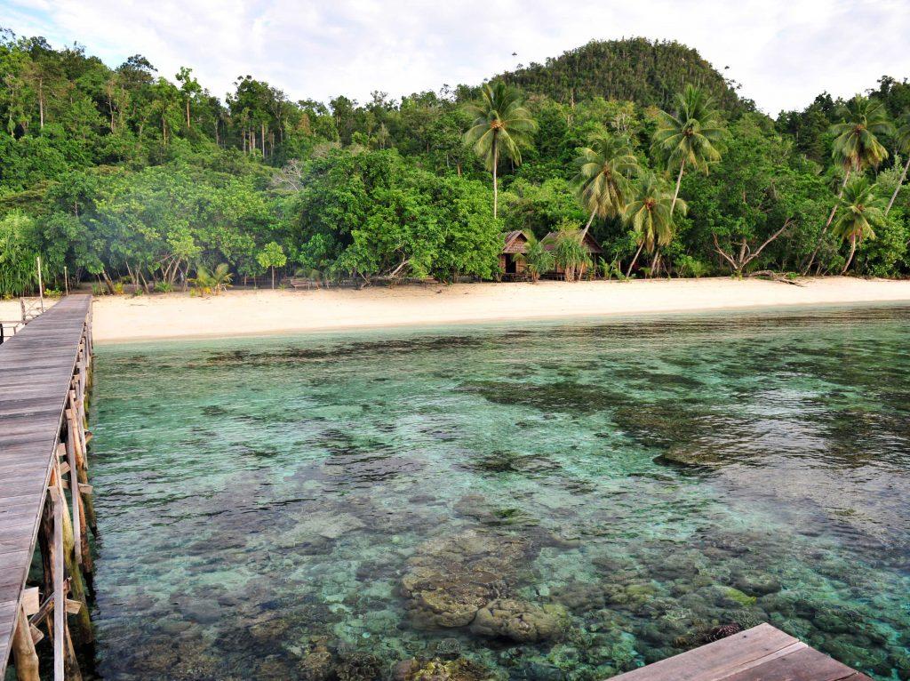 Playa de Raja Ampat