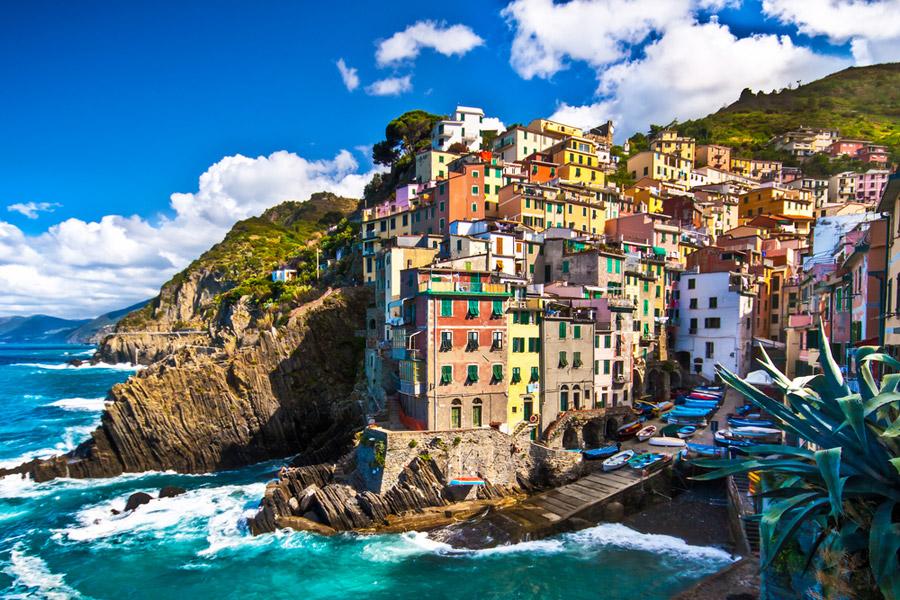 Le Cinque Terre desde Livorno