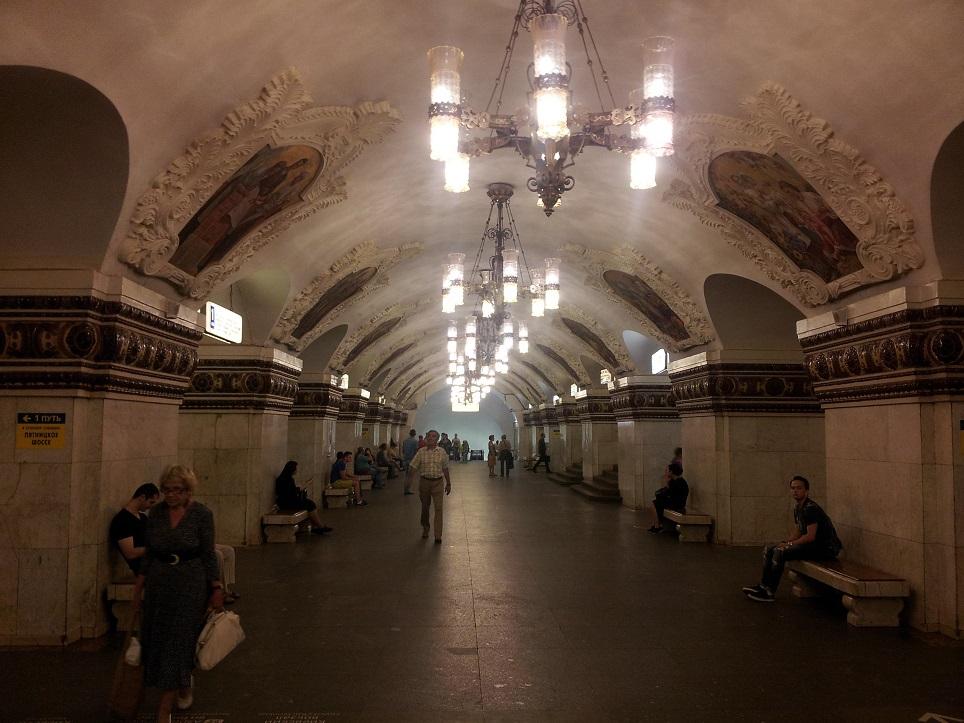 Estacion metro Moscu