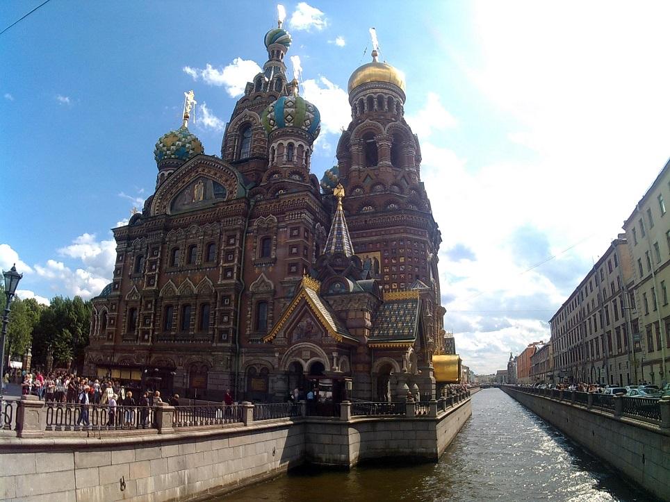 Catedral de la Sangre Derramada, Rusia
