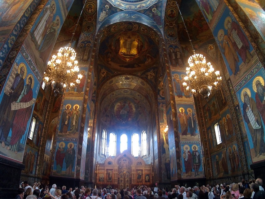 8Interior Catedral de la Sangre Derramada-en-rusia-a