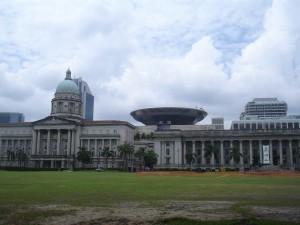 La Corte de Justicia y el Ayuntamiento.