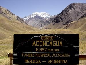 Vista del Aconcagua